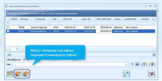 Jak wysłać e deklaracje i odebrać UPO w programie Comarch ERP Optima
