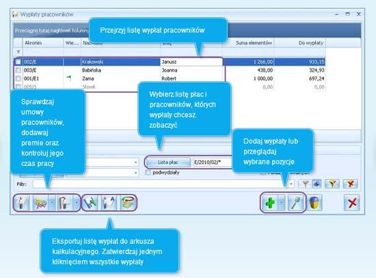 Jak realizować wypłaty dla pracowników w Comarch ERP Optima
