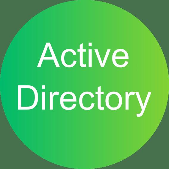 ikona Active Directory obsługa informatyczna firm Konfiguracja kontrolera domeny Active Directory