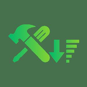 Ikona sortuj po narzędziu z aplikacji do zarządzania produkcją Kantata Production Controller MES