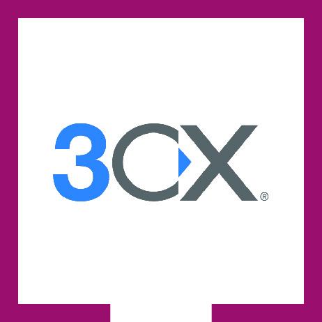 Logo programu 3CX
