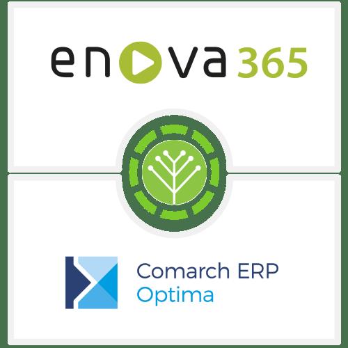 Integracja oprogramowania enova365 Comarch ERP Optima